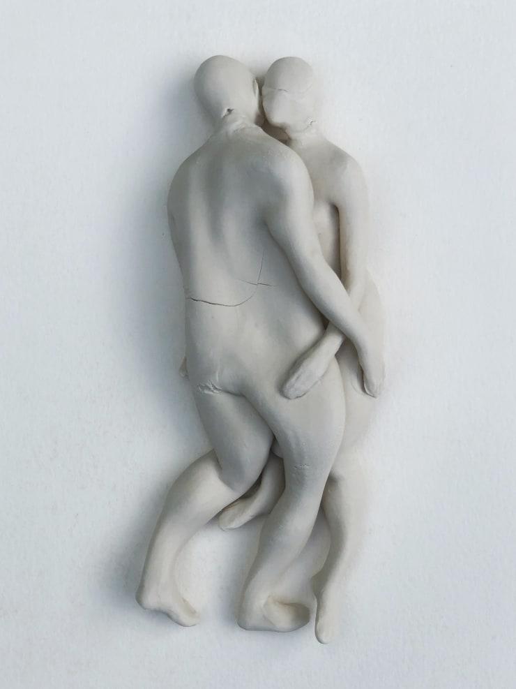 Emil Alzamora Firn Series (Couple), 2019 Porcelain 31 x 10 x 5 cm 12 x 4 x 2 in