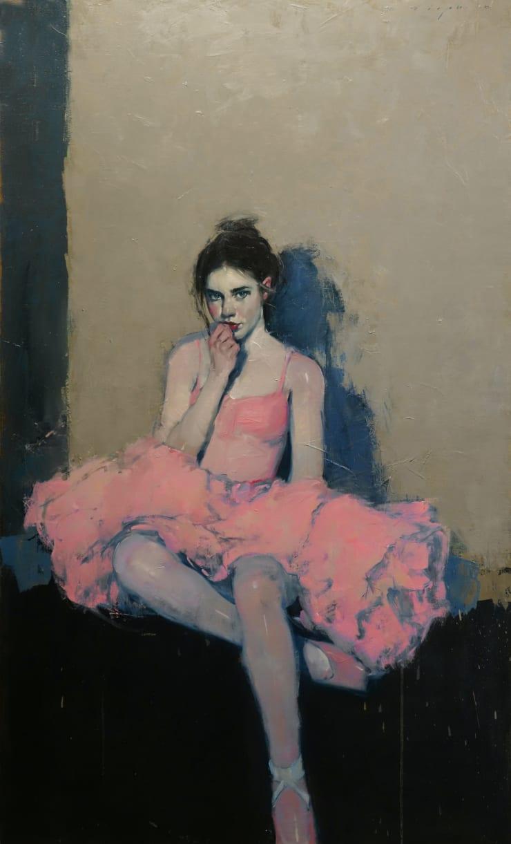 Malcolm Liepke Little Ballerina, 2019 Oil on canvas 142.2 x 86.4 cm 56 x 34 in