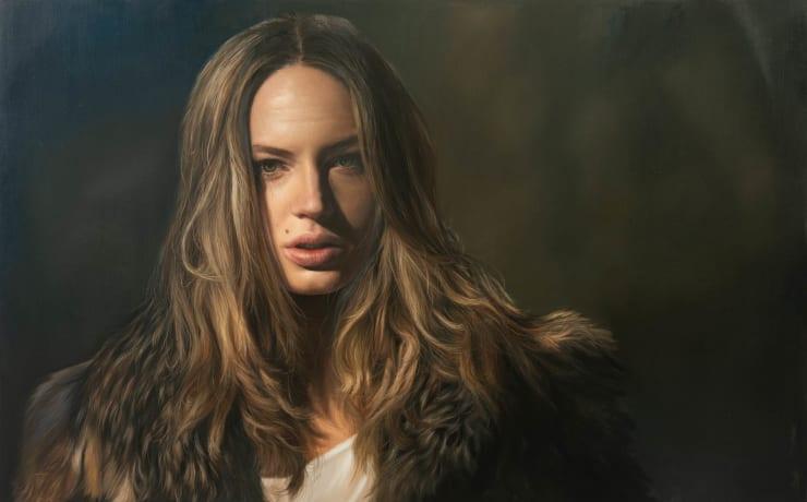 Yigal Ozeri Untitled; Zuzanna, 2019 Oil on canvas 83.8 x 137.2 cm 33 x 54 in