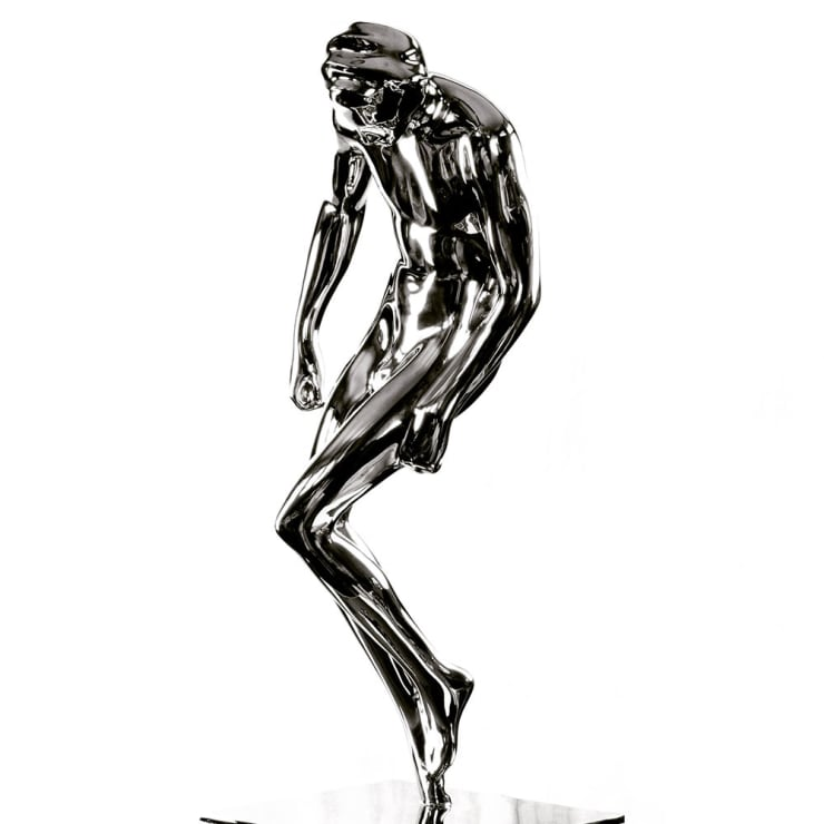 Emil Alzamora Star Suit, 2017 Mirror Polished Stainless Steel 78.7 x 38 x 30.5 cm 31 x 15 x 12 in Edition of 5 plus 2 artist's proofs