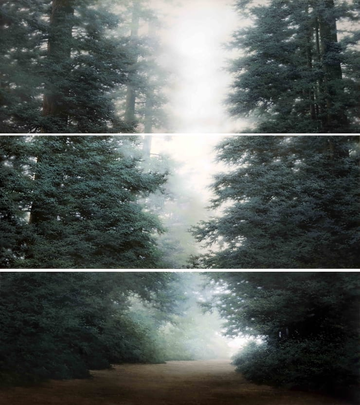 Do Sungwook Condition-Light III (Triptych), 2012 Oil on canvas 60 x 162 cm each 23.6 x 63.8 in each