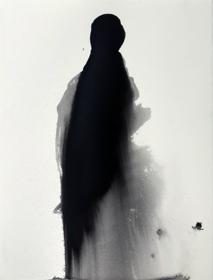 Emil Alzamora Solo, 2019 Ink on paper 38 x 28 cm 15 x 11.1 in