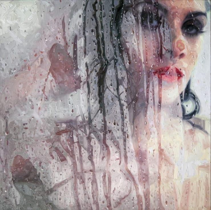 Alyssa Monks Edit , 2017 Oil on linen 81 x 81 cm 32 x 32 in