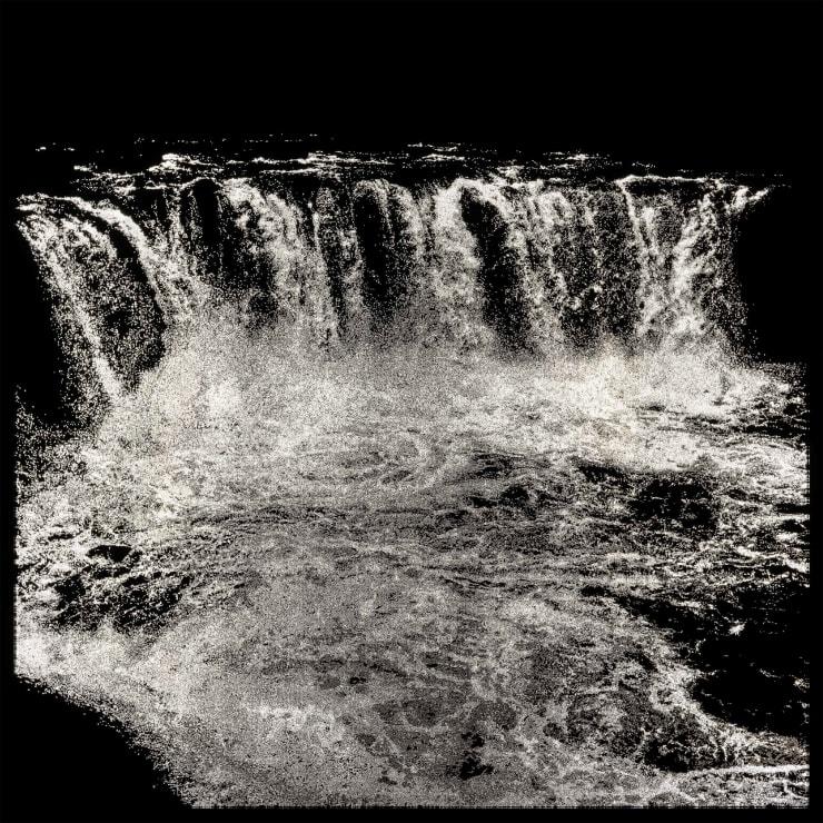 Choi Soowhan Emptiness - Waterfall, 2019 LED Laminate 152.8 x 152.8 x 8 cm 60.2 x 60.2 x 3.2 in