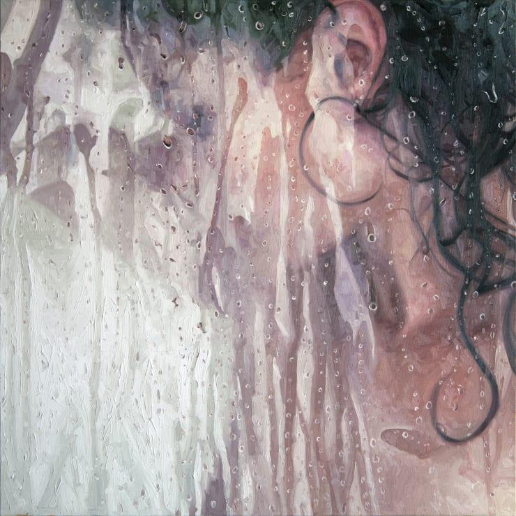 Alyssa Monks Set , 2017 Oil on linen 81 x 81 cm 32 x 32 in