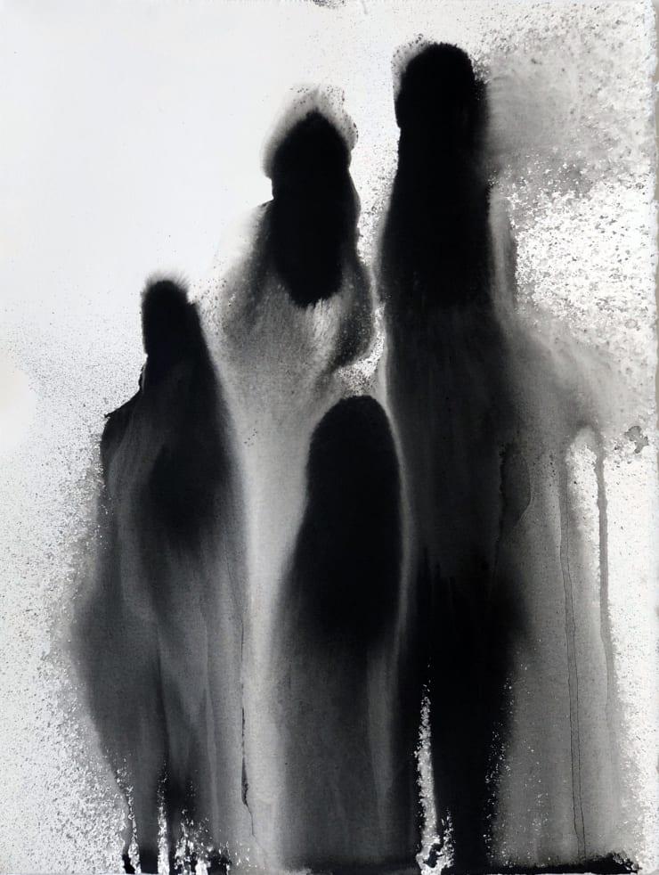 Emil Alzamora Family, 2019 Ink on paper 38 x 28 cm 15 x 11.1 in