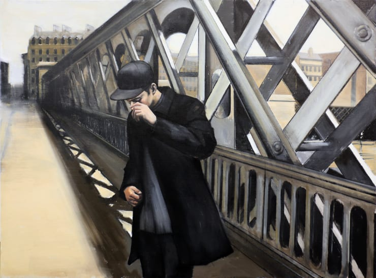 Christopher Thompson Caillebotte's Bridge, 2020 Oil on canvas 91 x 122 cm 35.8 x 48 in