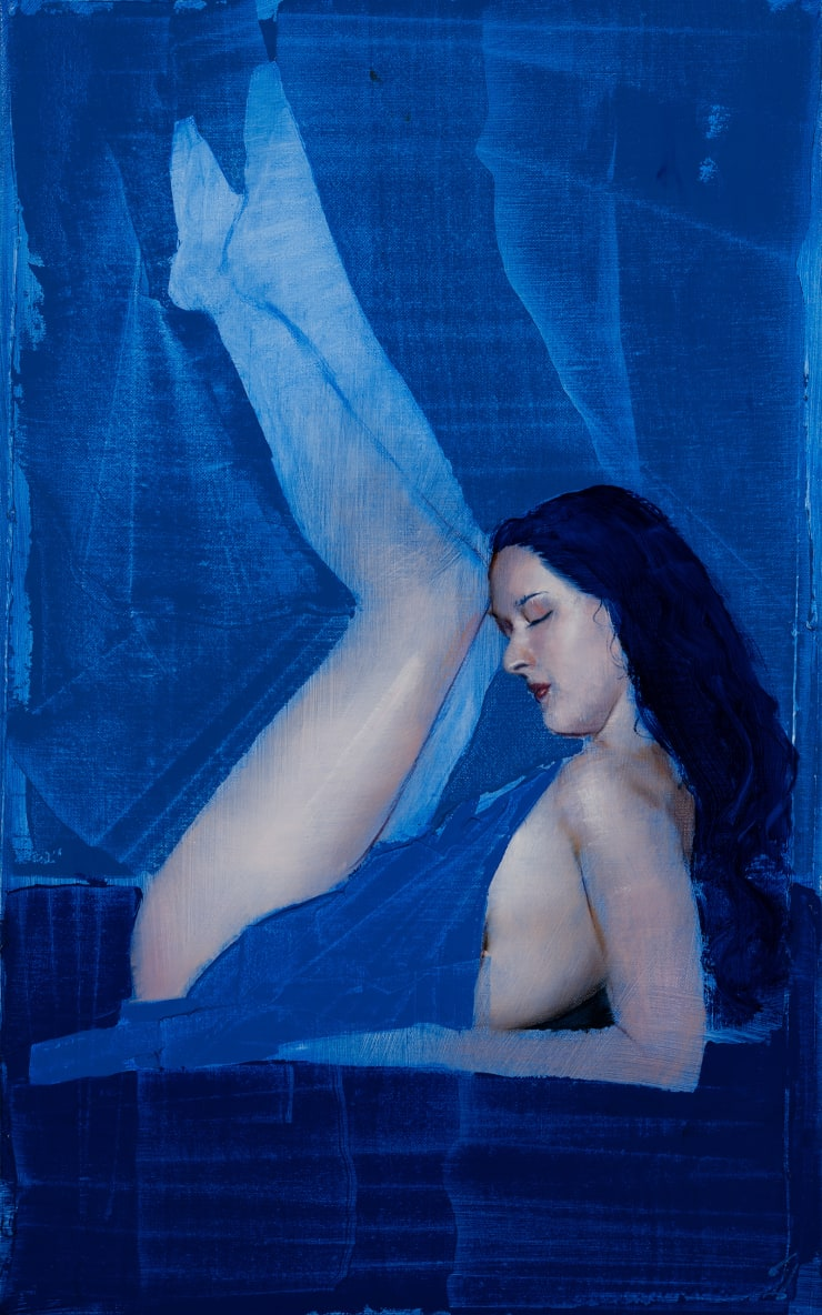 J Louis Disposition XXXVII, 2020 Oil on linen (stretched) 61 x 38 cm 24 x 15 in
