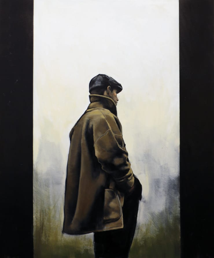 Christopher Thompson Mist, 2020 Oil on canvas 120 x 100 cm 47.2 x 39.4 in