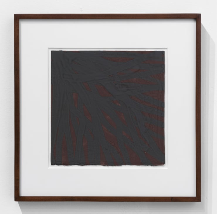 Sol Lewitt Untitled, 2001 Gouache on paper. 18 1/2 x 18 1/4 x 1 1/2 in 47 x 46.4 x 3.8 cm