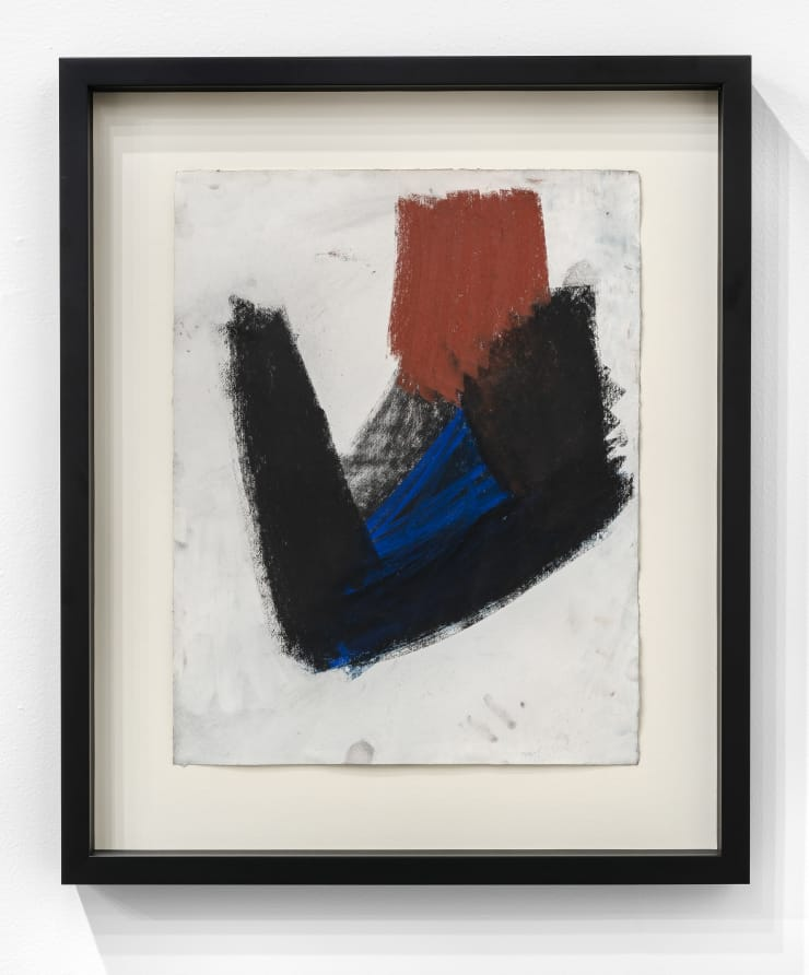 Joel Shapiro Untitled, 1987 Work on paper. Framed 23 x 18 1/2 x 1 in.