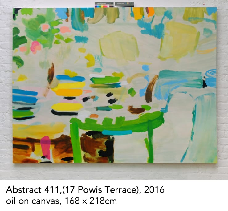 Tim Braden, Abstract 411 (17 Powis Terrace), 2016
