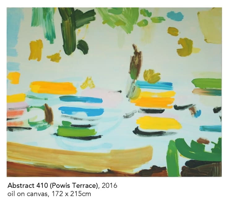 Tim Braden, Abstract 410 (17 Powis Terrace), 2016