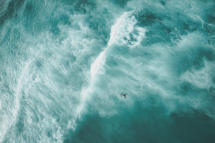 Jeremy Beck, Crashing Waves, 2018