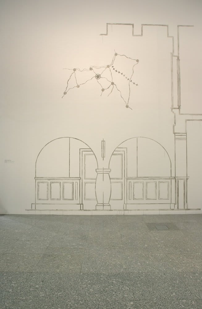 Catherine Bertola, Been and Gone (The Old Bus Station, Vitoria Gastiez) (detail), 2008