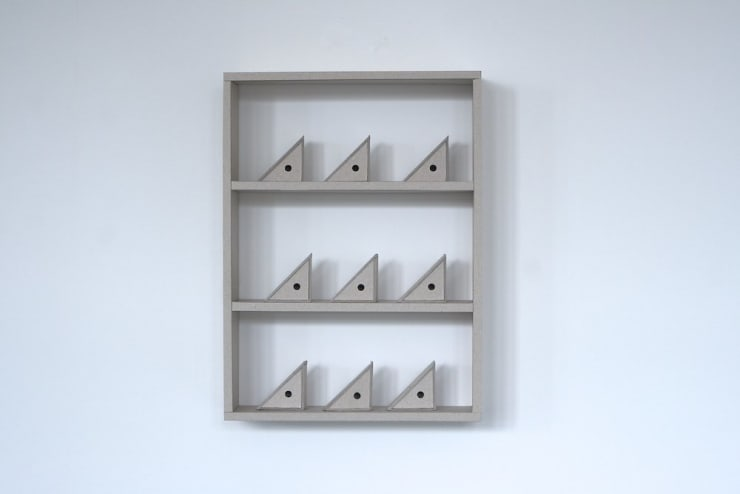 Dean Hughes, Triangular boxes (ii), 2011