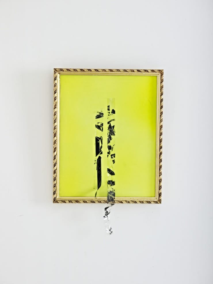 Jennifer Douglas, Misery (Fluorescent yellow), 2012