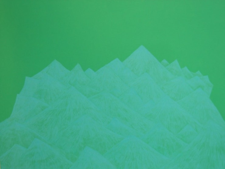 Jennifer Douglas, Archenland (turquoise and green), 2005
