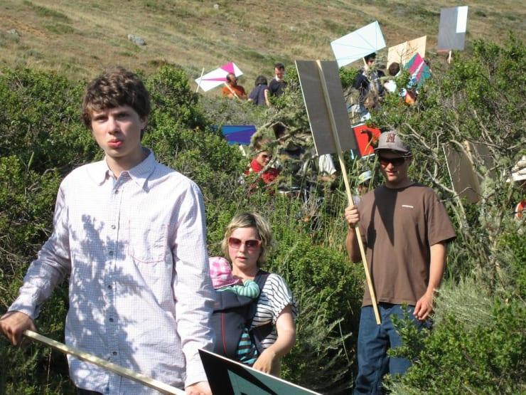 Jacob Dahlgren Demonstration 14th of June 2009 Headlands, Marin County, USA, 2009