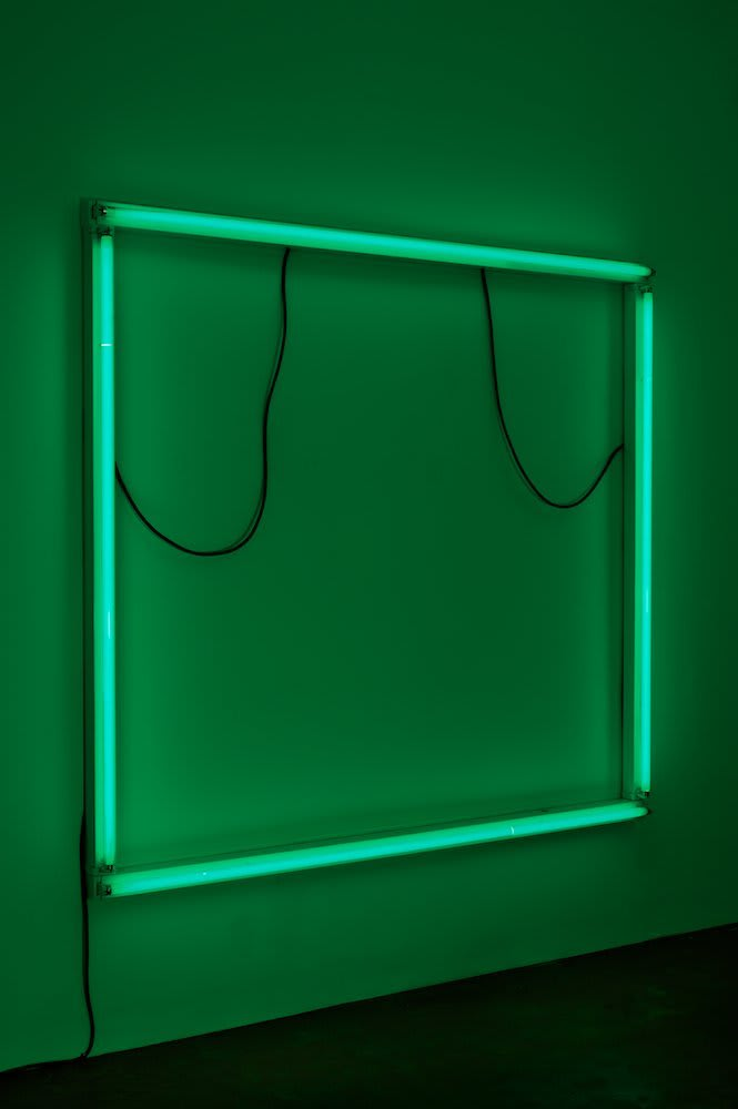 Paul Merrick, Untitled (Green Plate), 2011