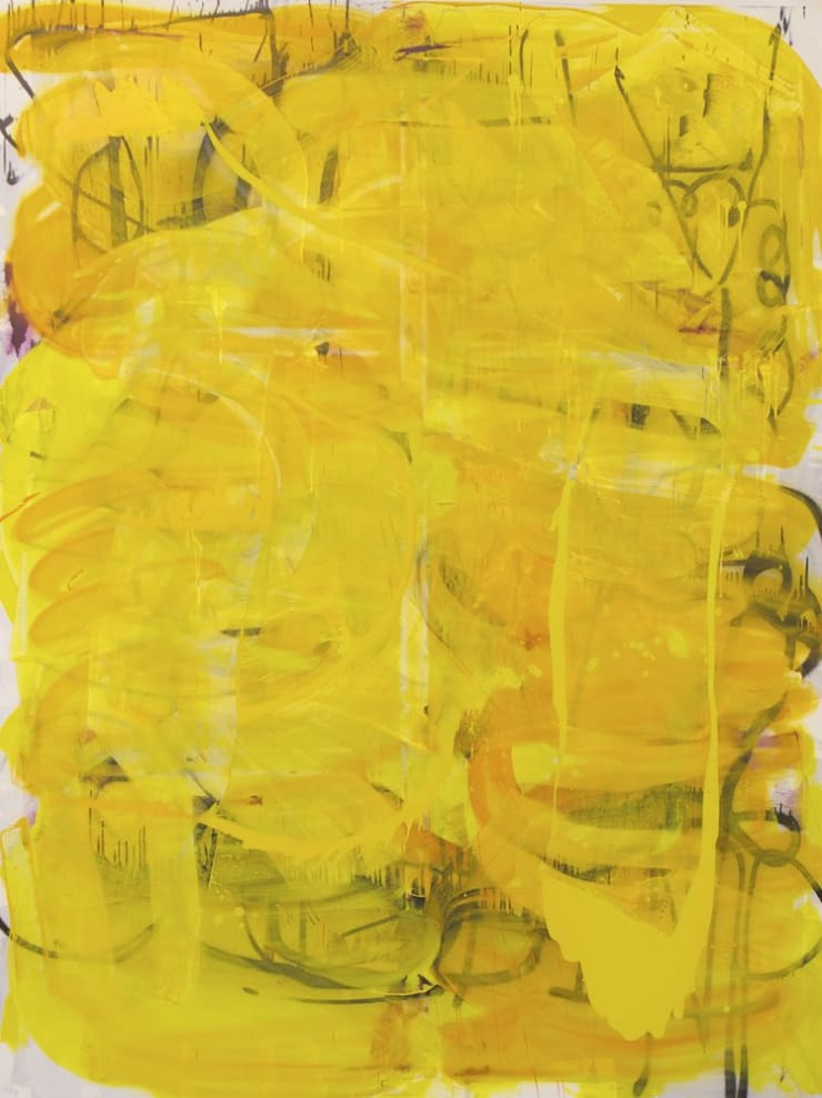 Mike Pratt, Yellow Back Drop, 2011