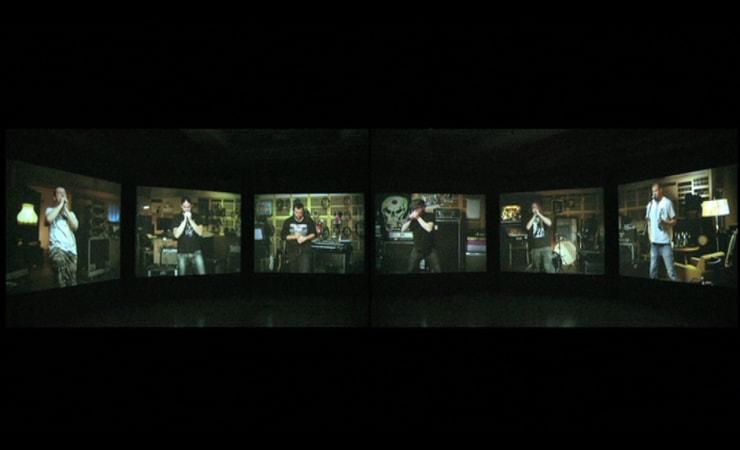 Matt Stokes, Cantata Profana (Panoramic installation video, Viewing Only), 2010