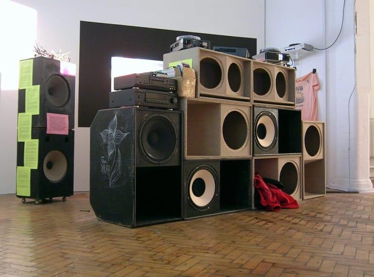 Matt Stokes, Real Arcadia (Sound-System in progress), 2004 - 2007