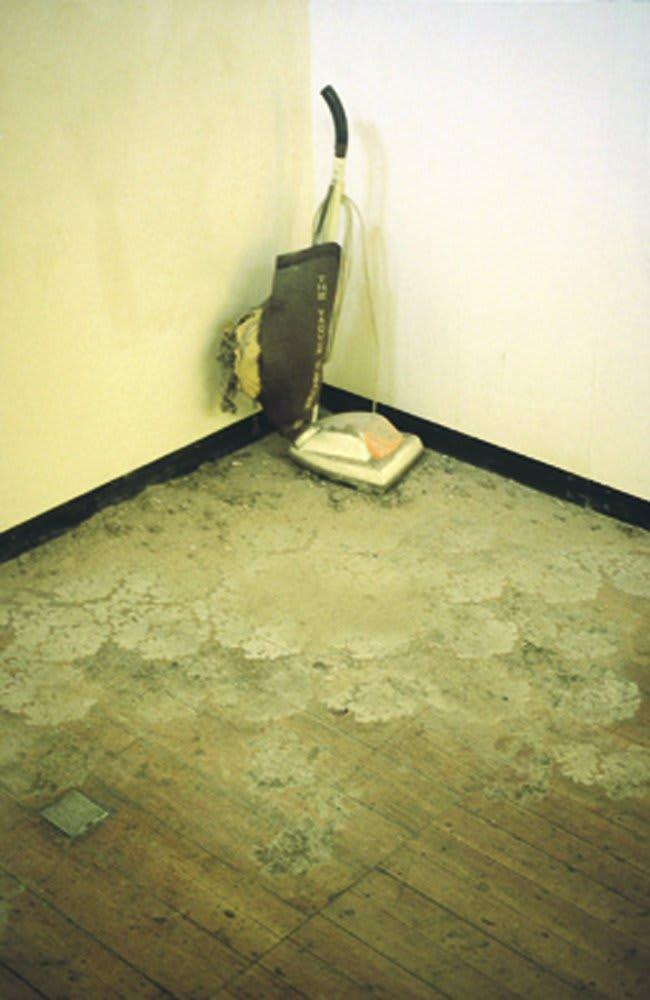 Catherine Bertola, Sweeping it Under, 1999