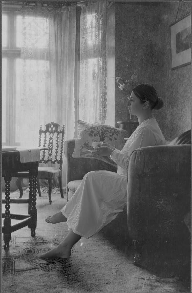 Catherine Bertola, Flight of fancy (Manchester circa 1900) Interior 2. (Detail), 2005