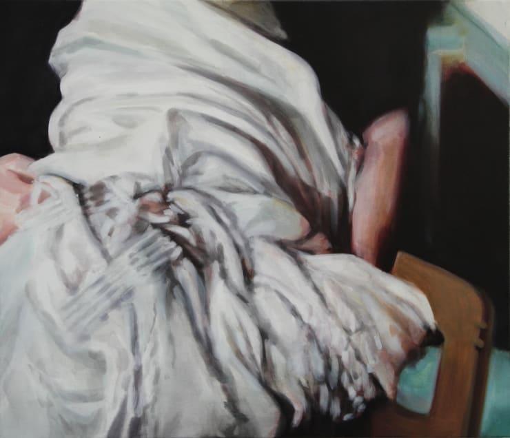Rachel Lancaster, White Fabric, 2018