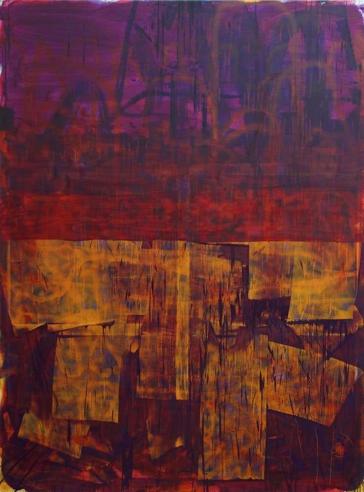 Mike Pratt, Purple Picture, 2011