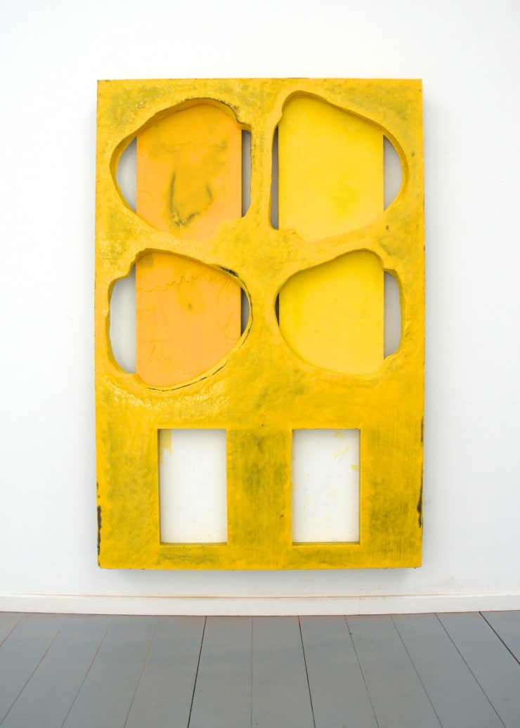 Mike Pratt, Yellow Painting, 2013