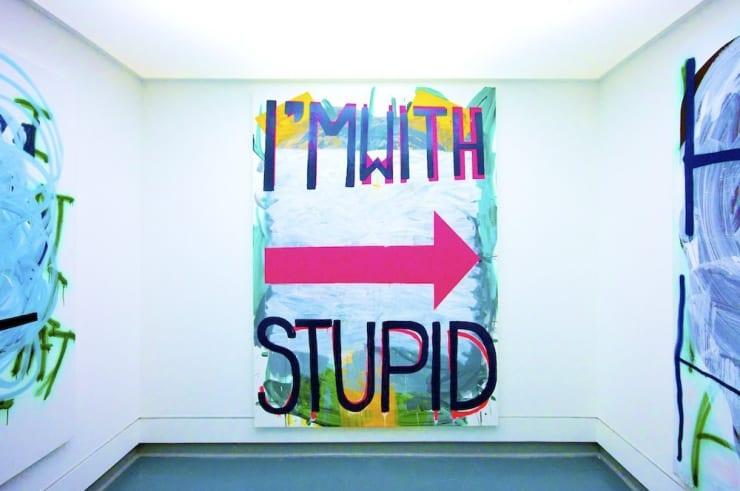 """Mike Pratt, """"Hubba Hubba"""" (Exhibition Detail), Installation View, 2009"""