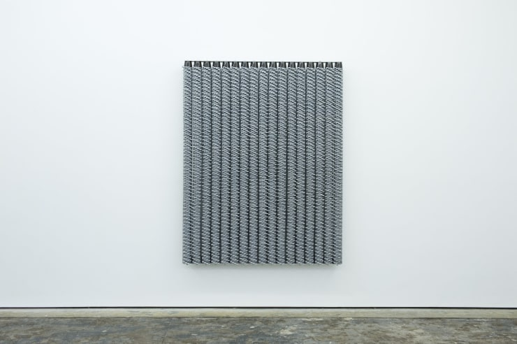 Jacob Dahlgren Leeds 1982, 2012 Plastic coffee cups and aluminium 180 x 140 x 18 cm 70 7/8 x 55 1/8 x 7 in