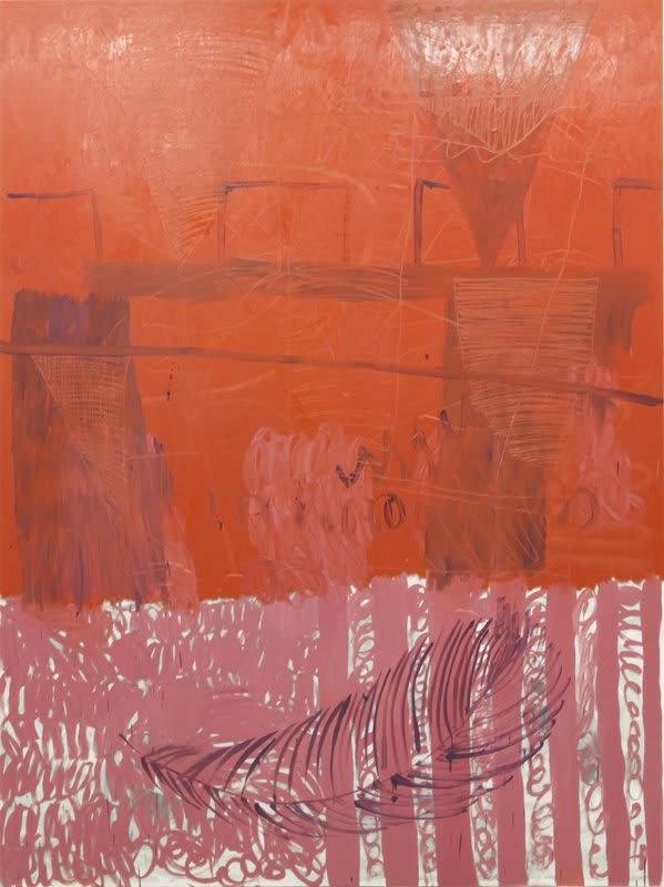 Mike Pratt, Red Painting, 2010