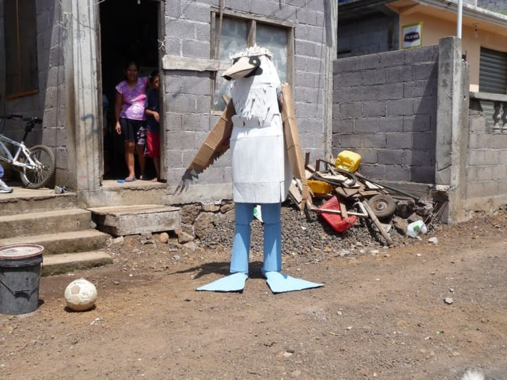 Marcus Coates, Human Report, Blue - Footed Booby, Galapagos, 2008