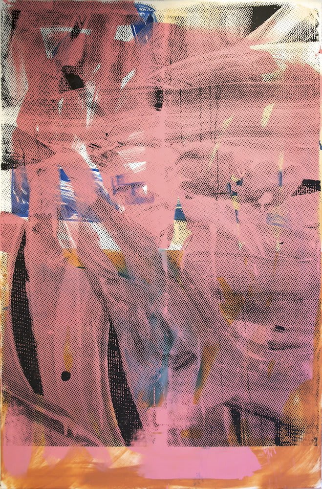Mike Pratt, Pink Abstract, 2012