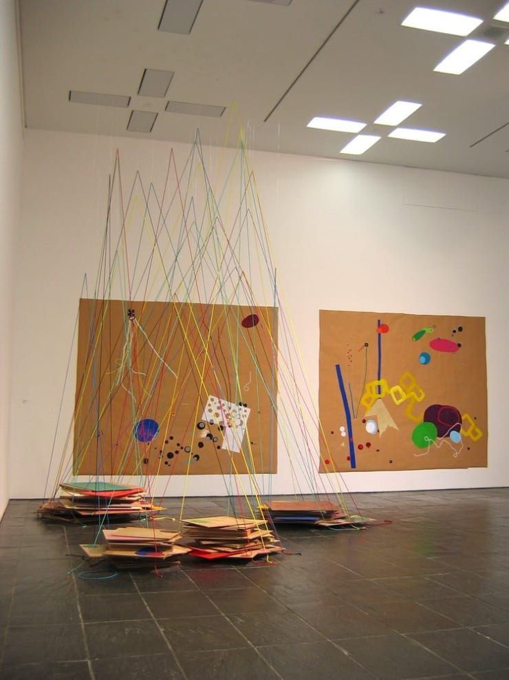 Jennifer Douglas, Rolling Showdown, Installation View, 2006