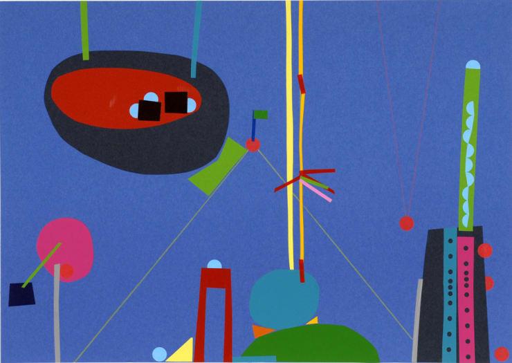 Jennifer Douglas, Fantastica (Blue I), 2007