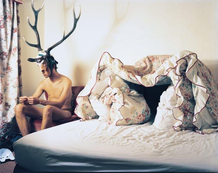 Marcus Coates, Duvet Den, 2000