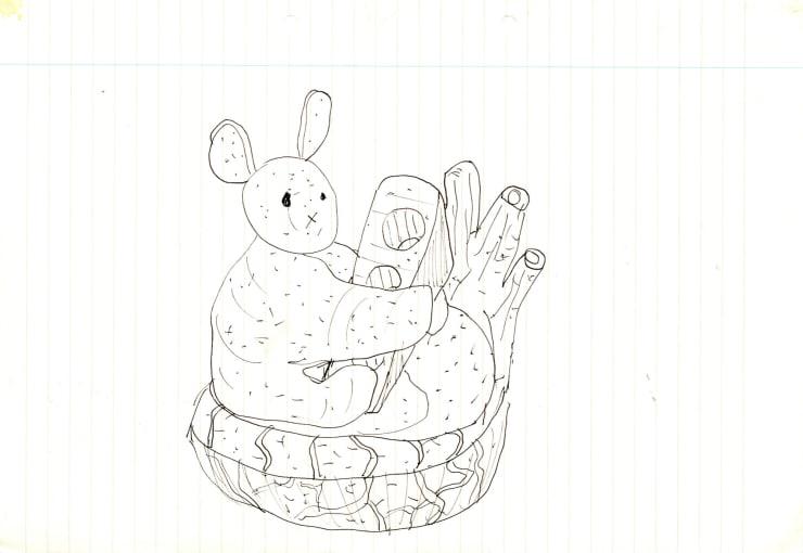 Eric Bainbridge Untitled Pen on paper 21 x 29.7 cm 8 1/4 x 11 3/4 in