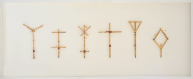 Marcus Coates, Crucifixes for Various Amphibians circa 1973, 2000