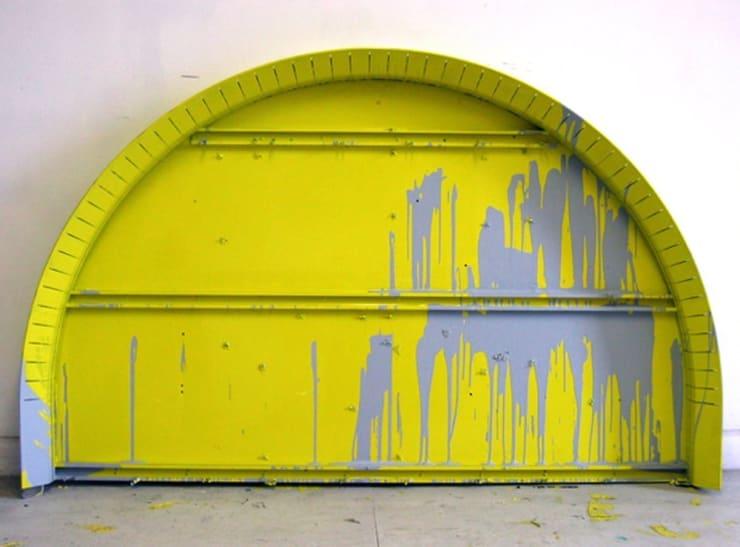 Paul Merrick Untitled (Yellow Arc), 2008