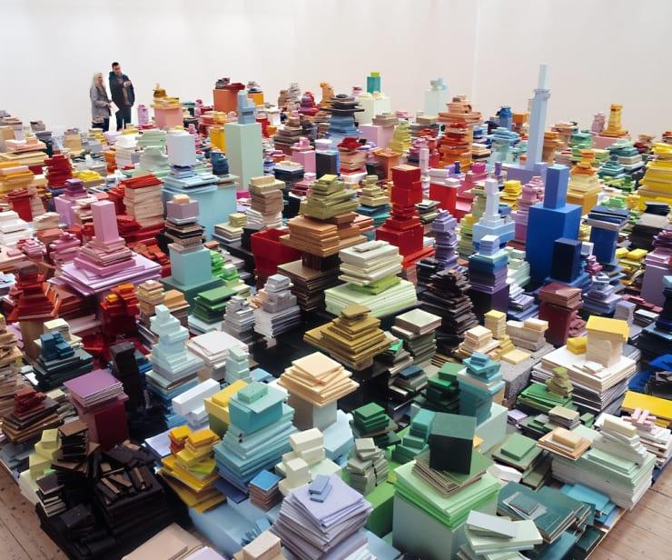 Jacob Dahlgren, Colour reading and contexture, 2005