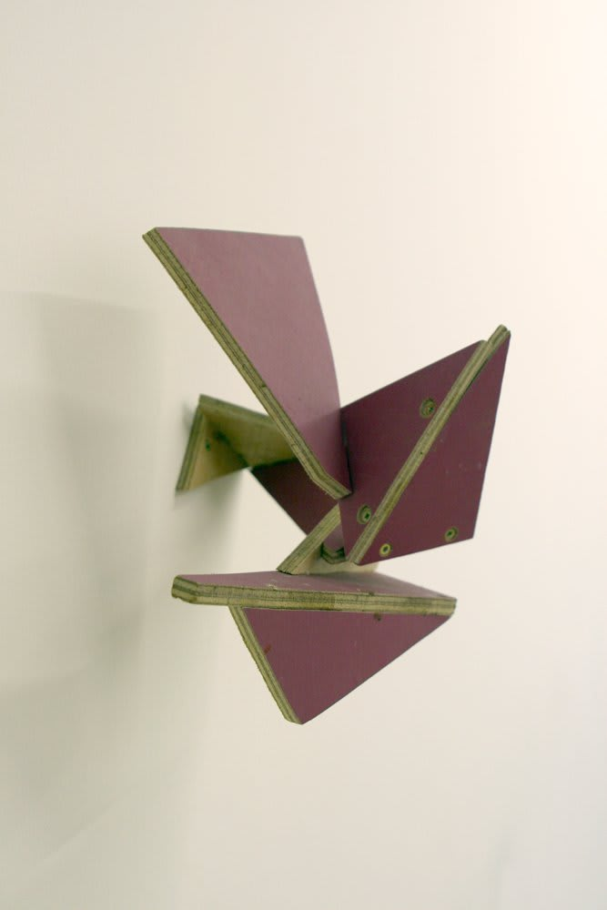 Jennifer Douglas, Inside Straight Draw (Pink), 2007