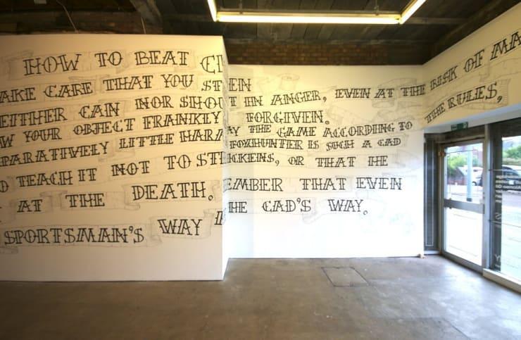 Ant Macari How To Beat Children, Installation View, 2007