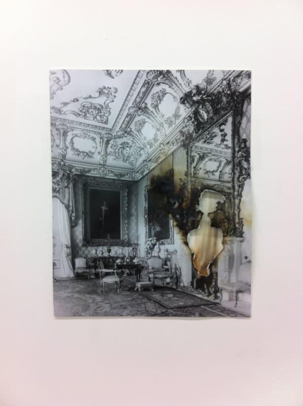 Catherine Bertola, Sad Bones (Wingerworth Hall), 2014