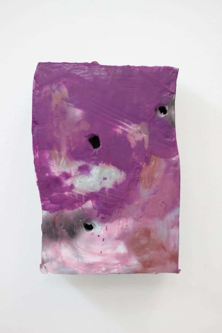 Mike Pratt, Purple Torso, 2014