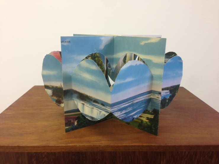 Postcard Sculptures