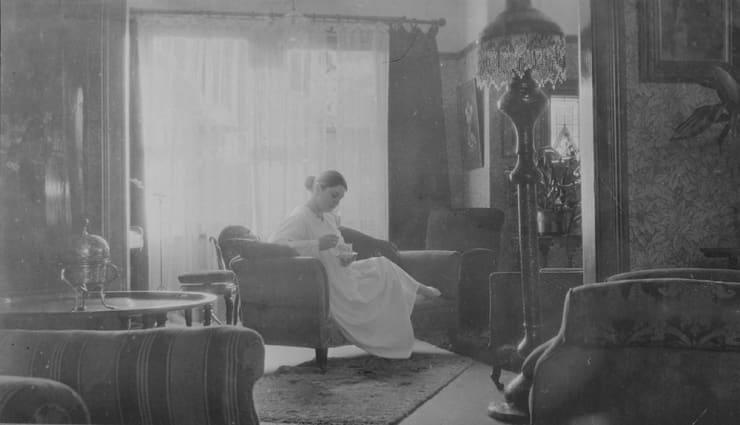 Catherine Bertola, Flight of Fancy (Manchester circa 1900) Interior 1. (Detail), 2005